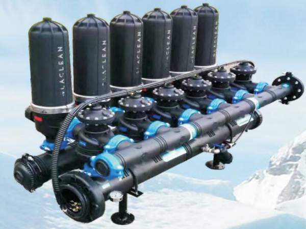 auto disc backflushing filter filtration system for livestock